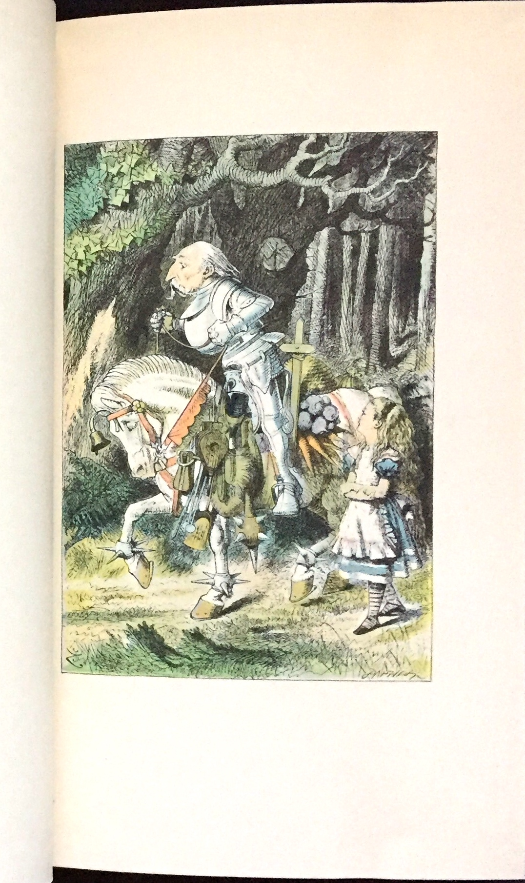 alices adventures in wonderland and through the looking