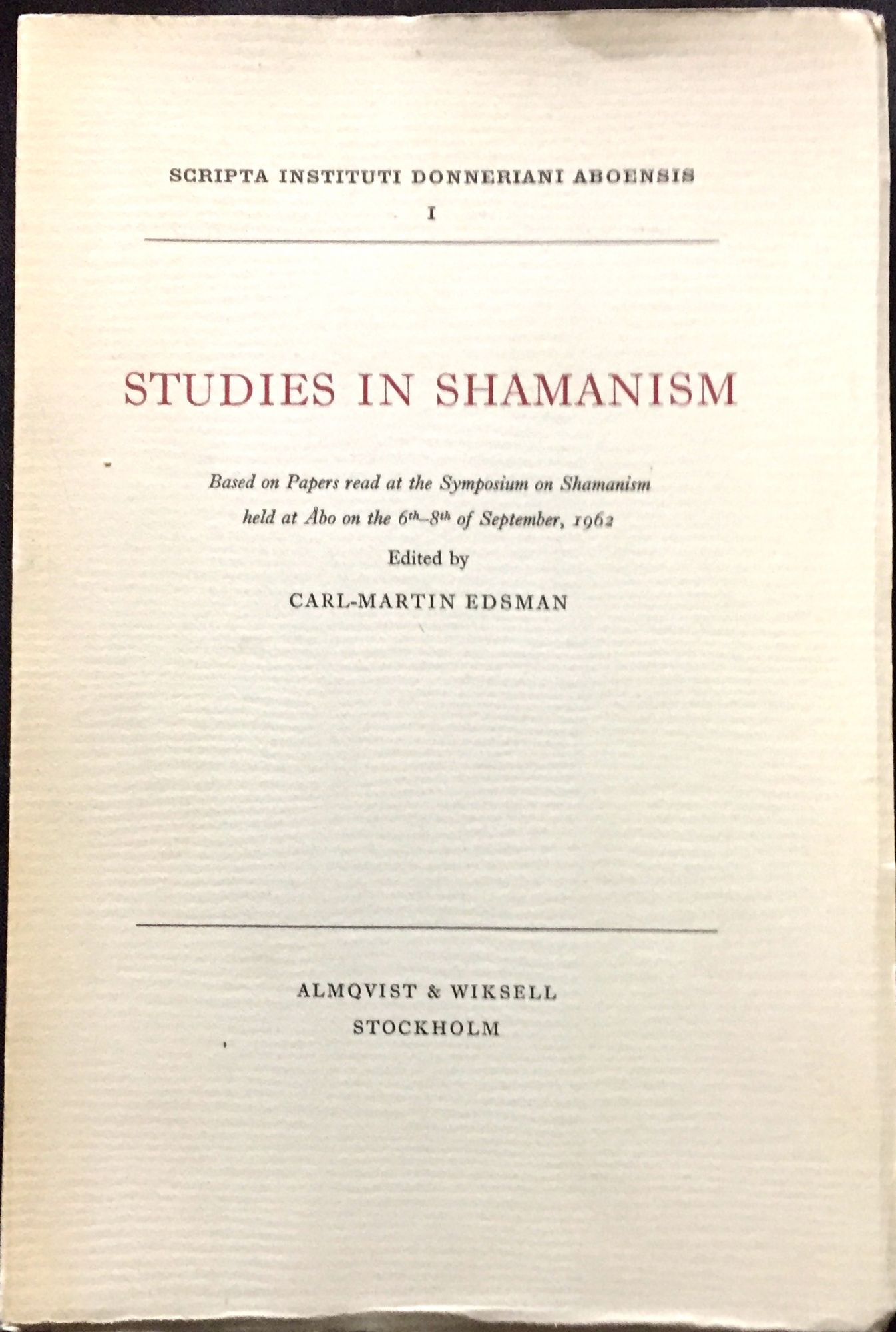Essay on shamanism thesis builder tom march