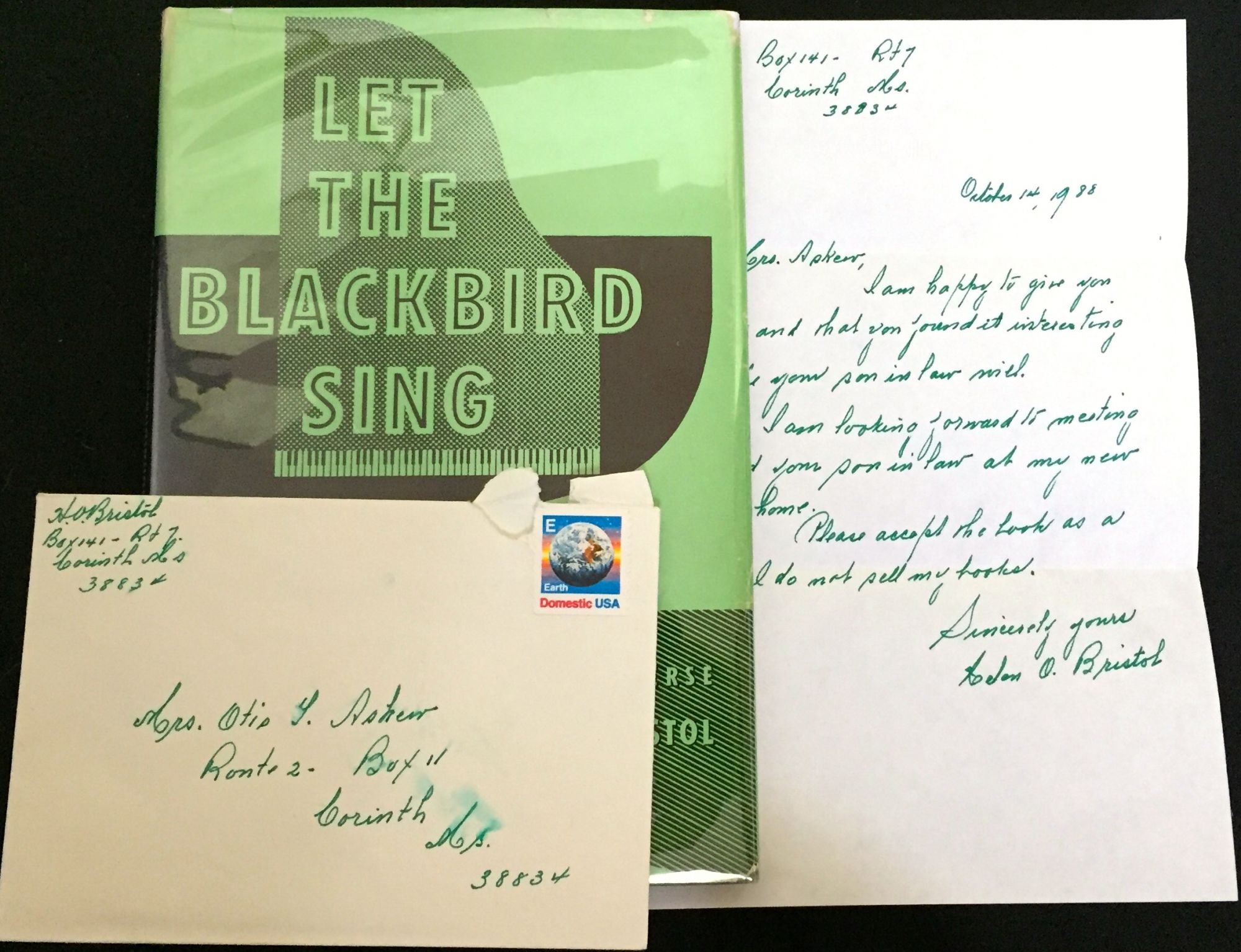 Let the blackbird sing a novel in verse by helen o bristol let the blackbird sing a novel in verse by helen o bristol with a foreword by edgar a singer jr buycottarizona