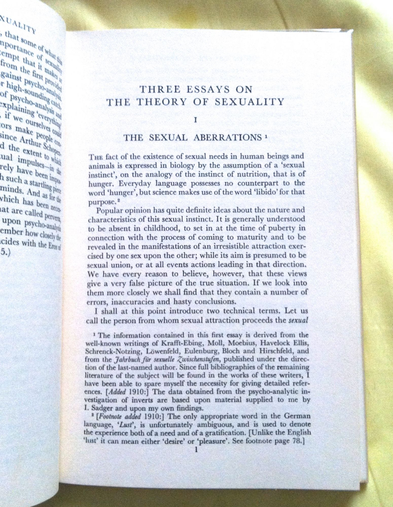 Writing A Proposal Essay Sigmund Freud Three Essays On The Theory Of Sexuality Health Essay Example also What Is The Thesis Of A Research Essay Sigmund Freud Three Essays On The Theory Of Sexuality  James  Healthy Diet Essay