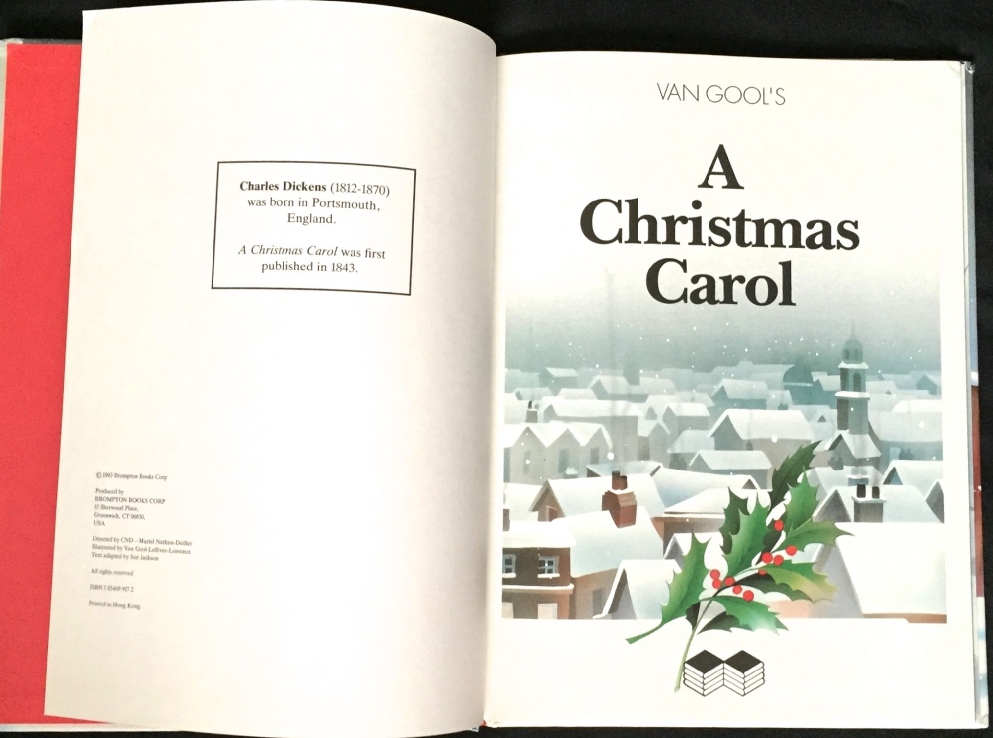 van gools a christmas carol - When Was A Christmas Carol Published