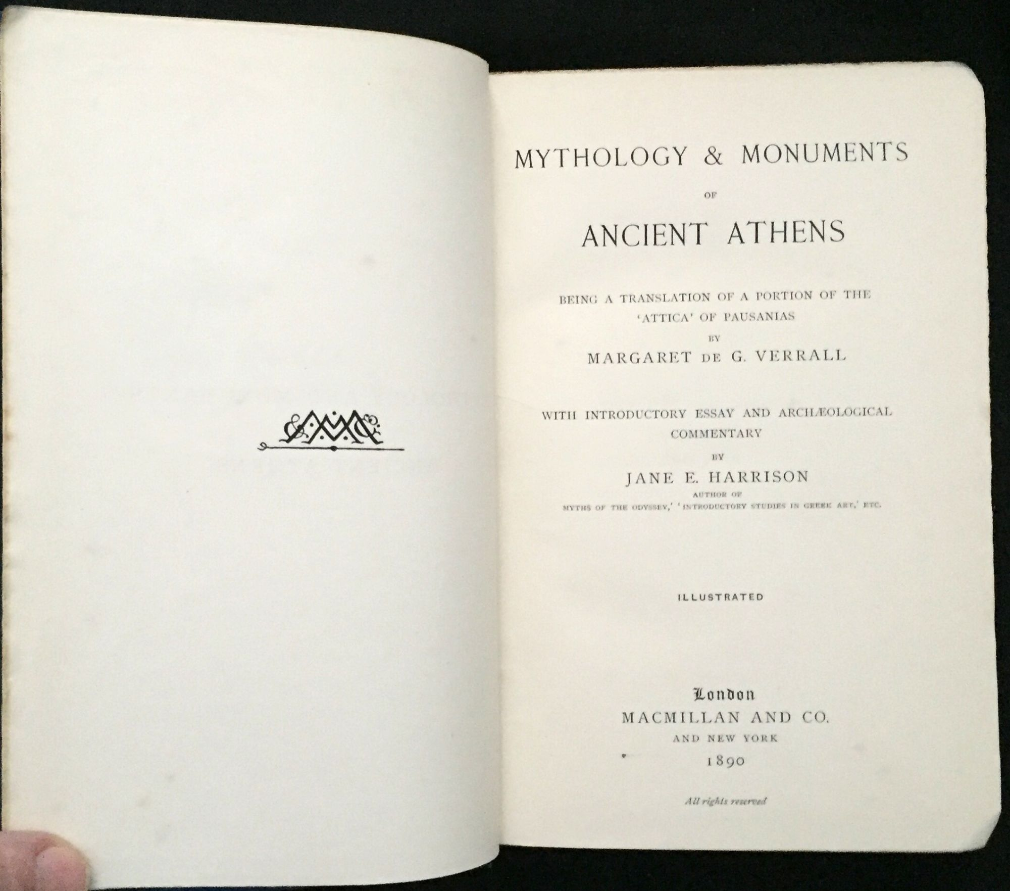 mythology monuments of ancient athens being a translation of a mythology monuments of ancient athens being a translation of a portion of pausanias attica introductory essay and archaeological commentary by