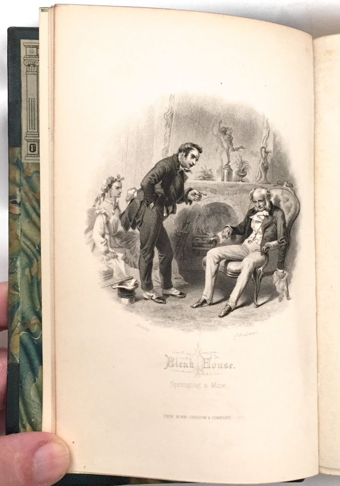 Bleak House Ilrated From Drawings By F G C Darley And John Gilbert The Works Of Charles Ens Household Edition