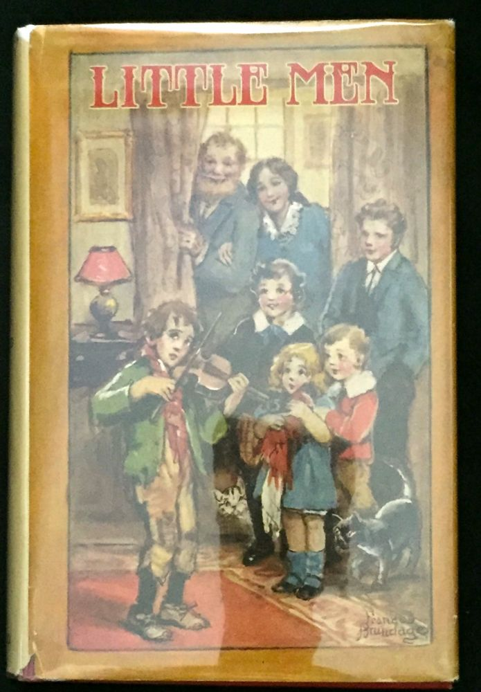 LITTLE MEN; Life at Plainfield with Jo's Boys / by Louisa May Alcott / Author of Little Women, An Old-Fashioned Girl, etc. / With Illustrations by Frances Brundage. Louisa May Alcott.