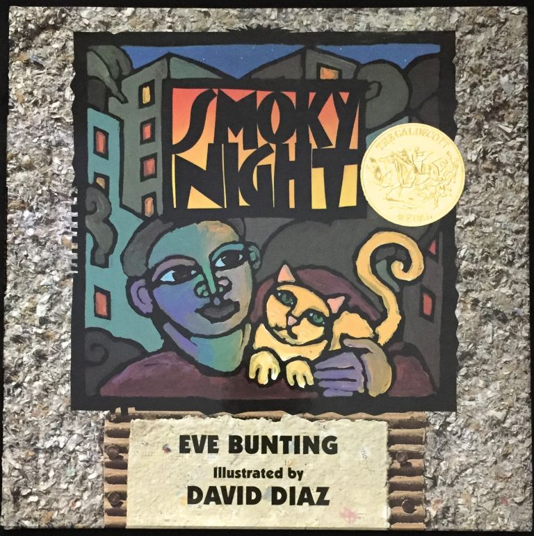SMOKY NIGHT; Illustrated by David Diaz. Eve Bunting.