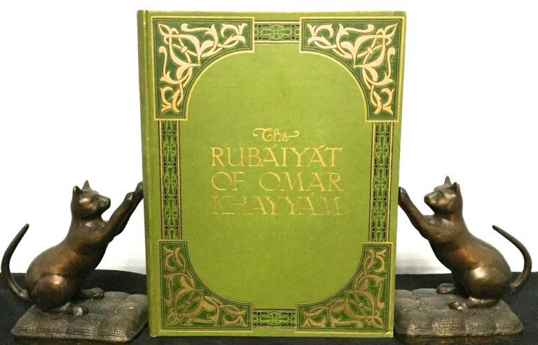 THE RUBAIYAT OF OMAR KHAYYAM; Rendered into English Verse by EDWARD FITZGERALD / Illustrated with thirty-eight pictures from photographs by MABEL EARDLEY-WILMOT. Omar Khayyam.