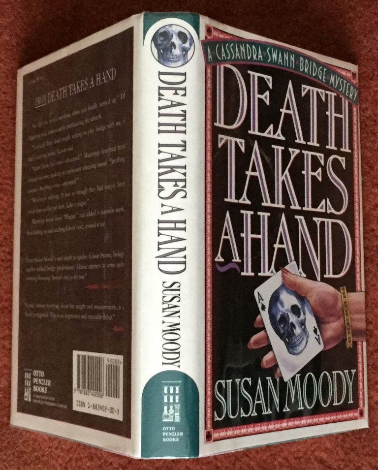 DEATH TAKES A HAND. Susan Moody.