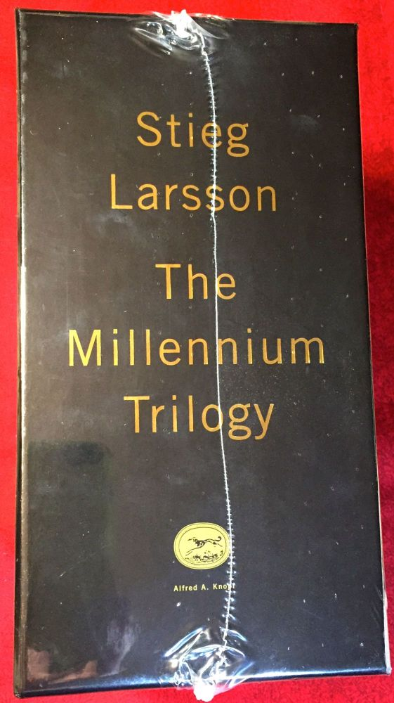 The Girl with the Dragon Tattoo; The Girl Who Played With Fire; The Girl Who Kicked the Hornet's Nest; On Stieg Larson. Stieg Larsson.