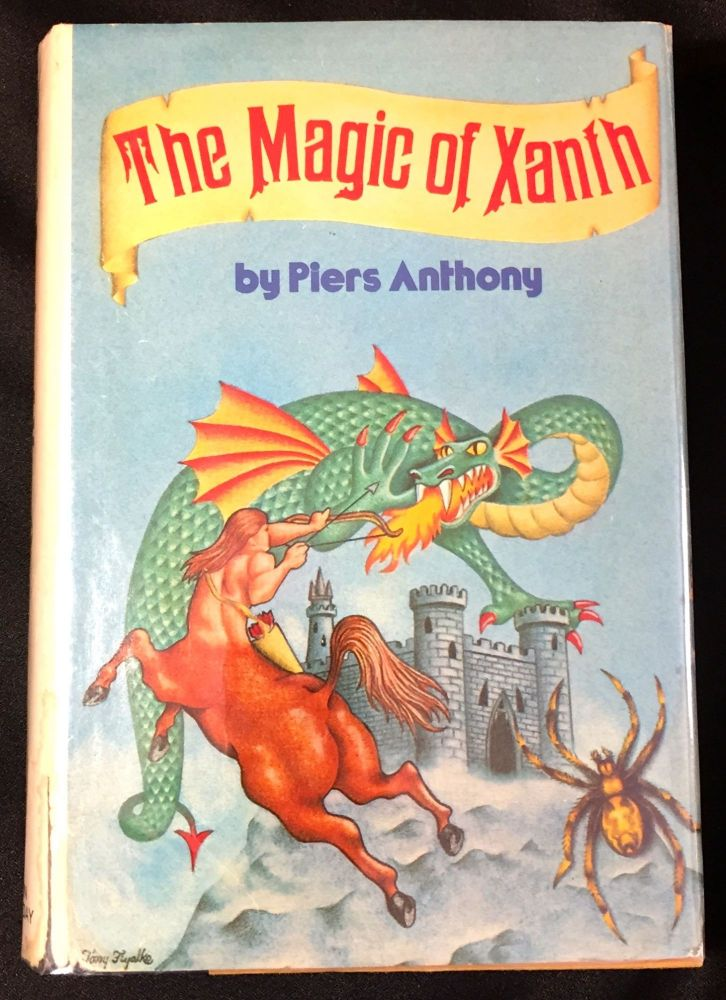 THE MAGIC OF XANTH; A Spell for Chameleon / The Source of Magic / Castle Roogna. Piers Anthony.
