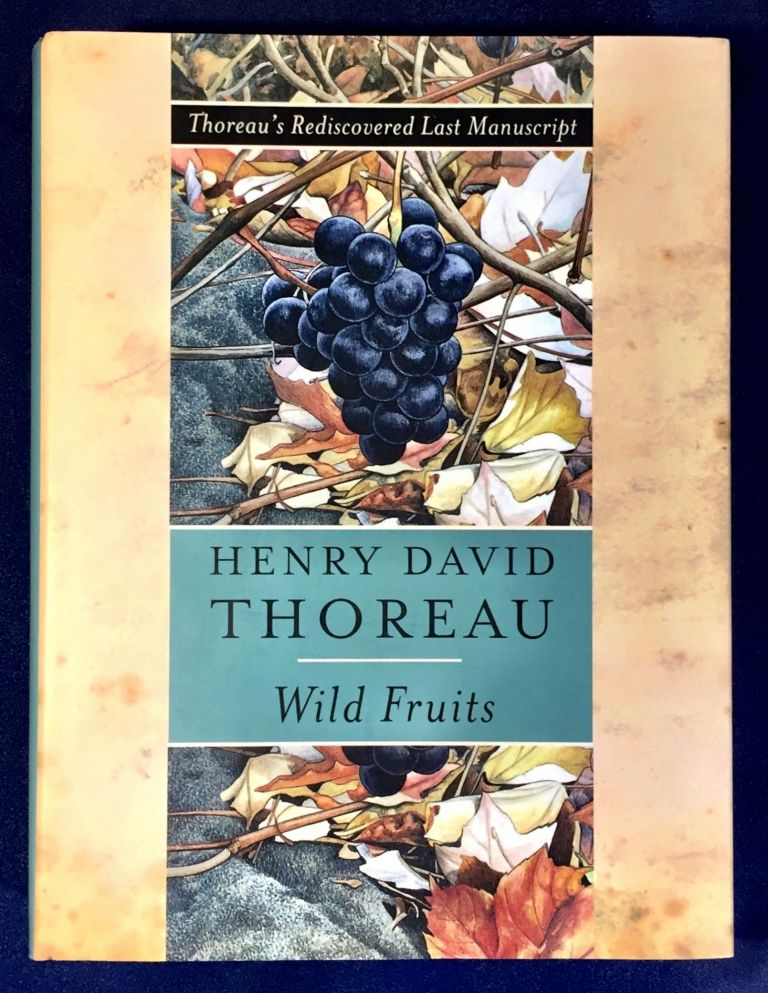 Thoreau's Rediscovered Last Manuscript / WILD FRUITS; Henry David Thoreau / Edited and Introduced by Bradley P. Dean / Illustrated by Abigail Rorer. Henry David Throeau.