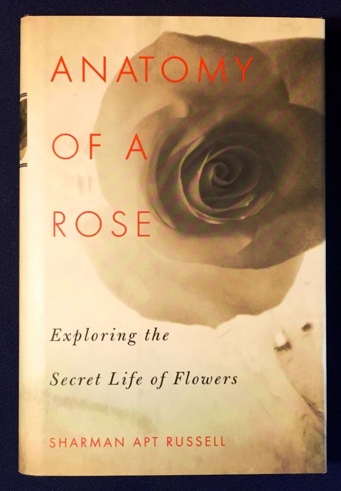 ANATOMY OF A ROSE; Exploring the Secret Life of Flowers / Illustrations Libby Hubbell. Sharman Apt Russell.