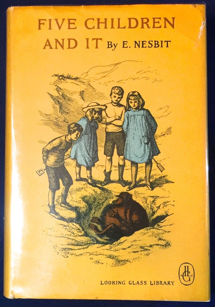 FIVE CHILDREN AND IT; Illustrated by J. S. Goodall. E. Nesbit.