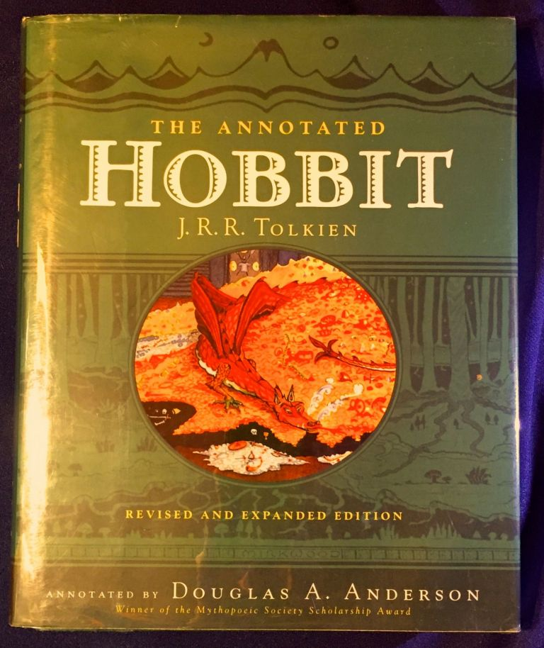 THE ANNOTATED HOBBITT; Revised and Expanded Edition / Annotated by Douglas A. Anderson / The Hobbitt or There and Back Again. J. R. R. Tolkien, Doublas A. Anderson, annotator.