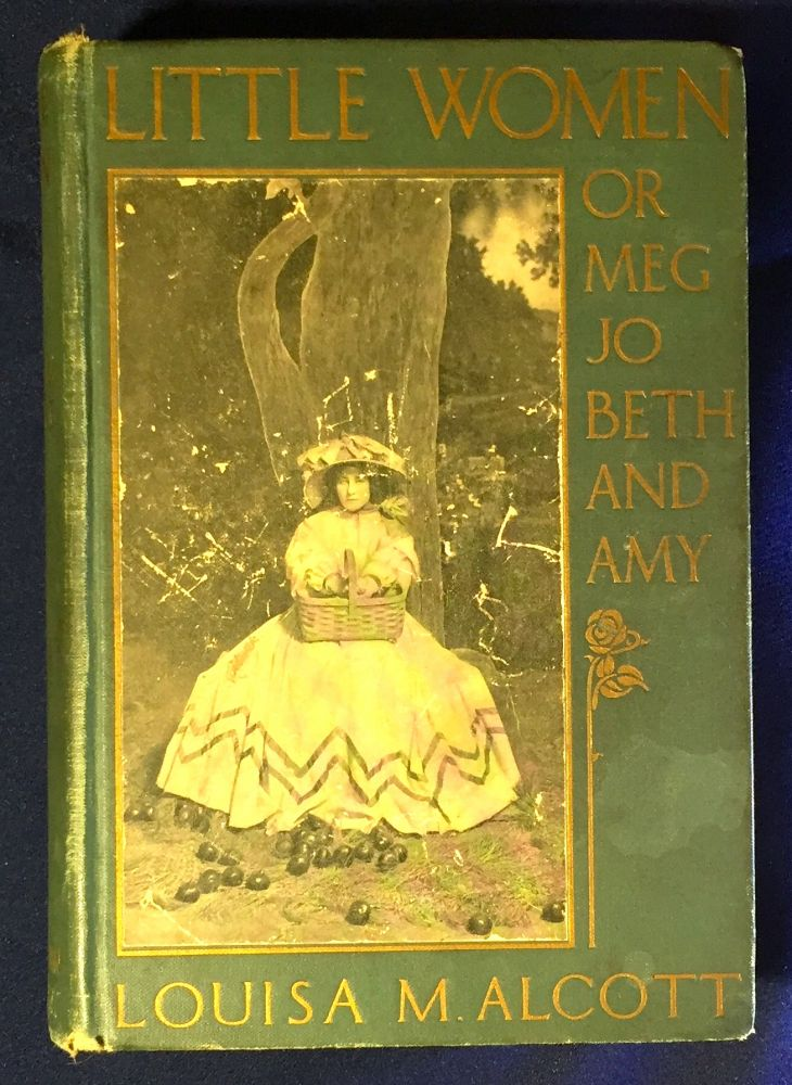 LITTLE WOMEN; or Meg, Jo, Beth and Amy / Player's Edition Illustrated from Photographs of Scenes in the Play. Louisa M. Alcott.
