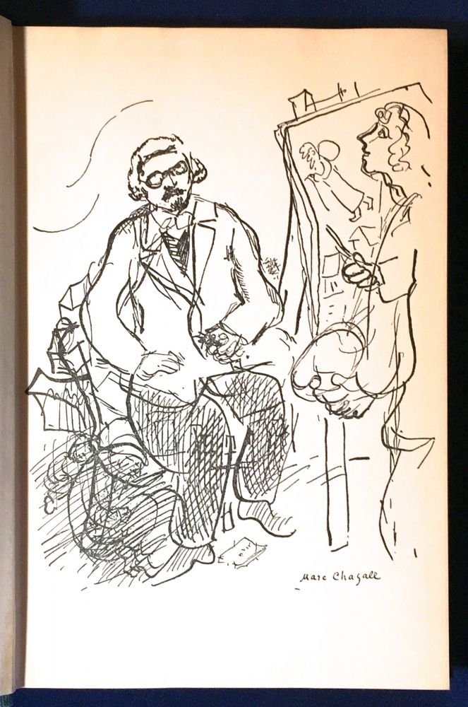 THE GREAT FAIR; Scenes from my Childhood / Translated by Tamara Kahana / with a drawing of the author by Marc Chagall. Sholom Aleichem.
