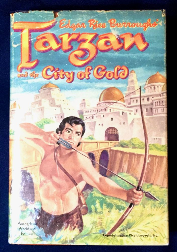TARZAN AND THE CITY OF GOLD; Illustrated by Jesse Marsh / Authorized Abridged Edition. Edgar Rice UPLOADED Burroughts.