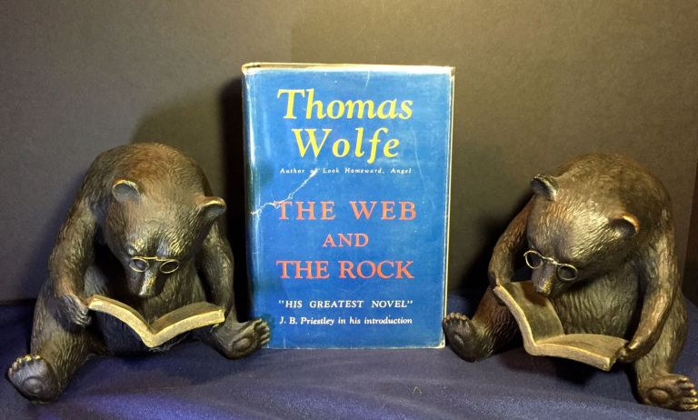 THE WEB AND THE ROCK. Thomas Wolfe.