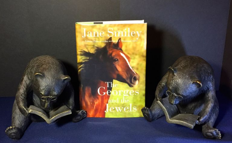 THE GEORGES AND THE JEWELS; A Novel. Jane Smiley.