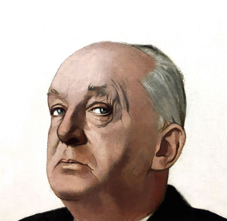 VLADIMIR NABOKOV: oil painting by Gerard de Rose for Time magazine's cover of the novelist on May 23, 1969. Painting, Gerard DE ROSE.