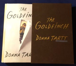 THE GOLDFINCH [Pulitzer Prize for Fiction]; A Novel [Limited Edition: Signed with Slipcase & Pamphlet]. Donna Tartt.