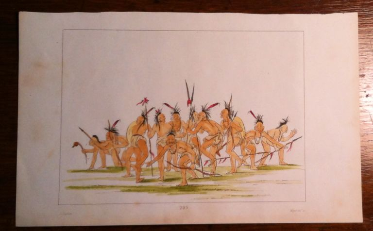 Discovery Dance. Print, CATLIN: Indian Dance.
