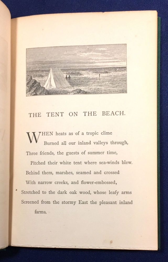 THE TENT ON THE BEACH; and / Other Poems. / By John Greenleaf Whittier. John Greenleaf Whittier.