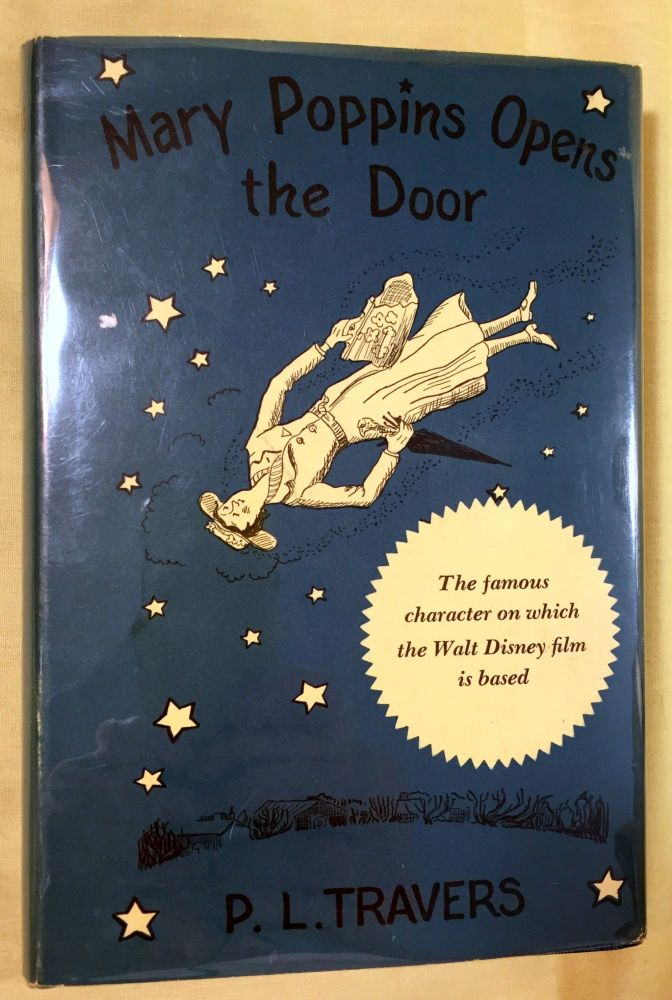 MARY POPPINS OPENS THE DOOR; by P. L. Travers / Illustrated by Mary Shepard and Agnes Sims. P. L. Travers.