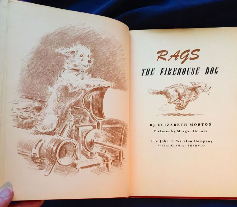 RAGS; The Firehouse Dog / Pictures by Morgan Dennis. Elizabeth Morton.