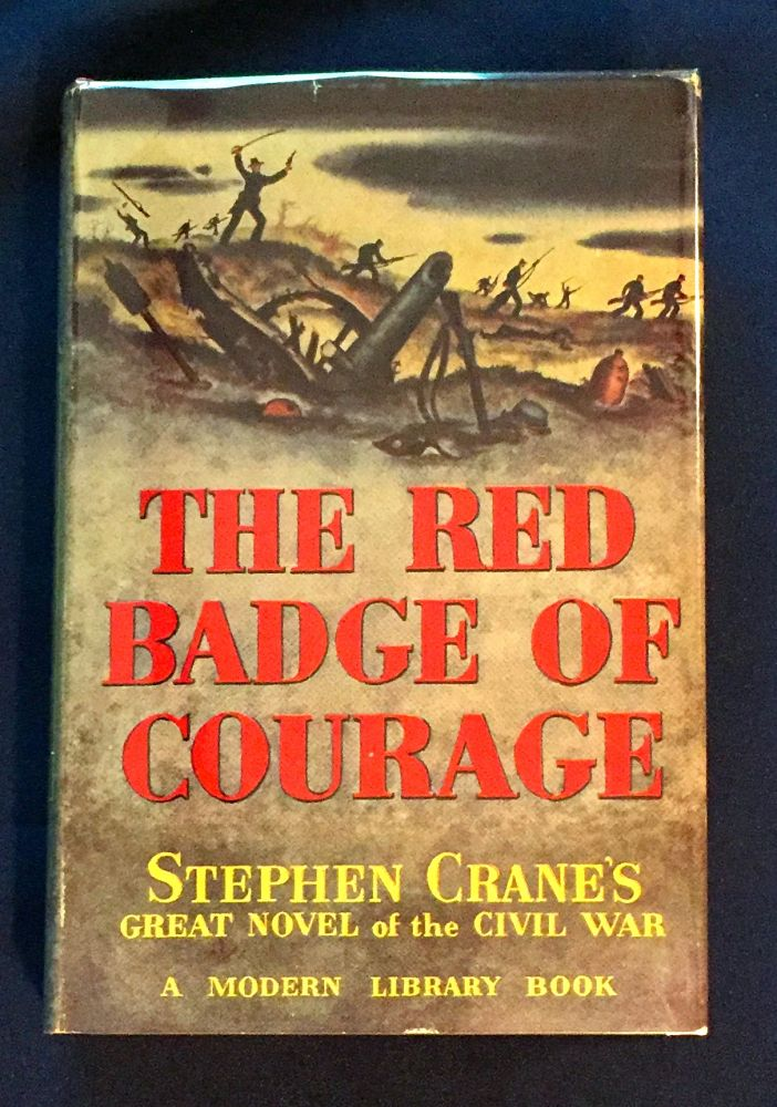 THE RED BADGE OF COURAGE; An Episode of the American Civil War / Introduction by Robert Wooster Stallman. Stephen Crane.