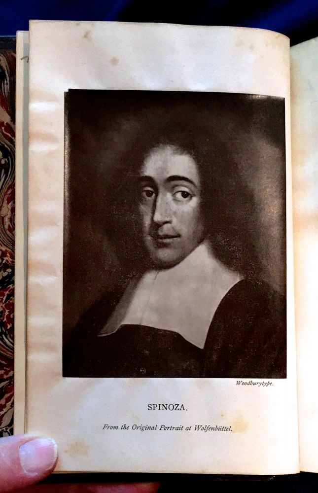 A STUDY OF SPINOZA; with a Portrait. James Martineau.