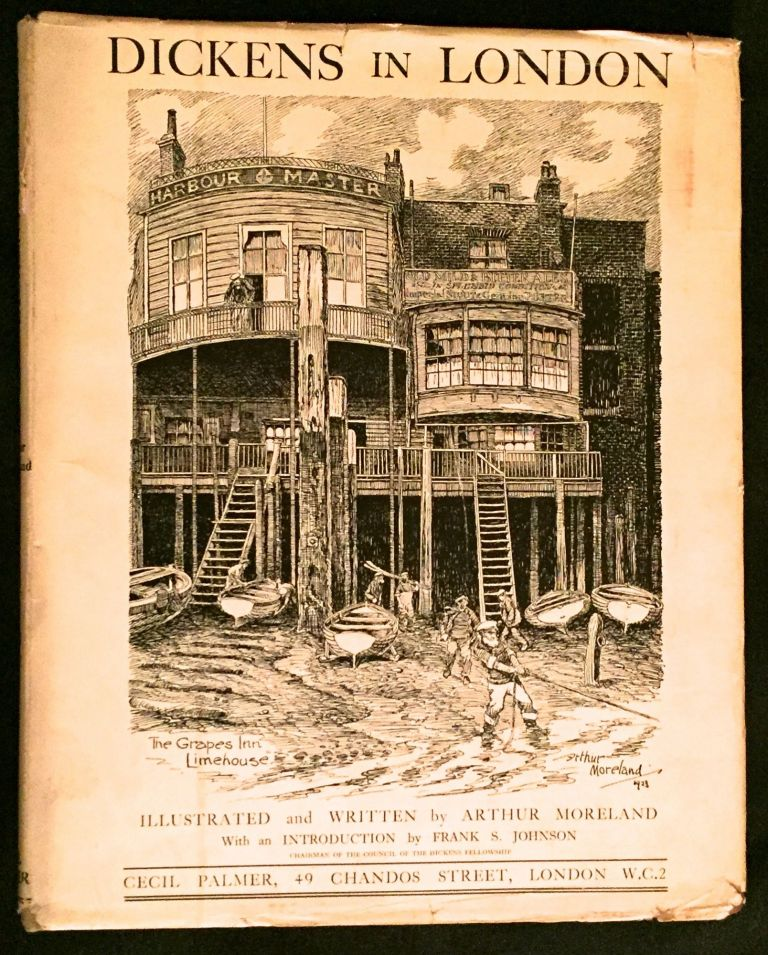 DICKENS' LONDON; Illustrated. Charles Dickens, Francis Miltoun.