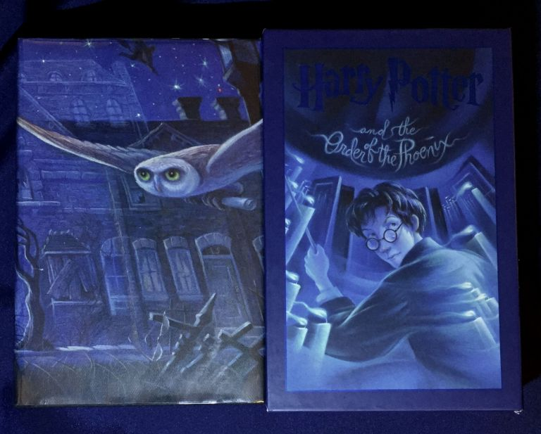 HARRY POTTER; and The Order of the Phoenix / By J.K. Rowling / Illustrations by Mary Grandpré. J. K. Rowling.