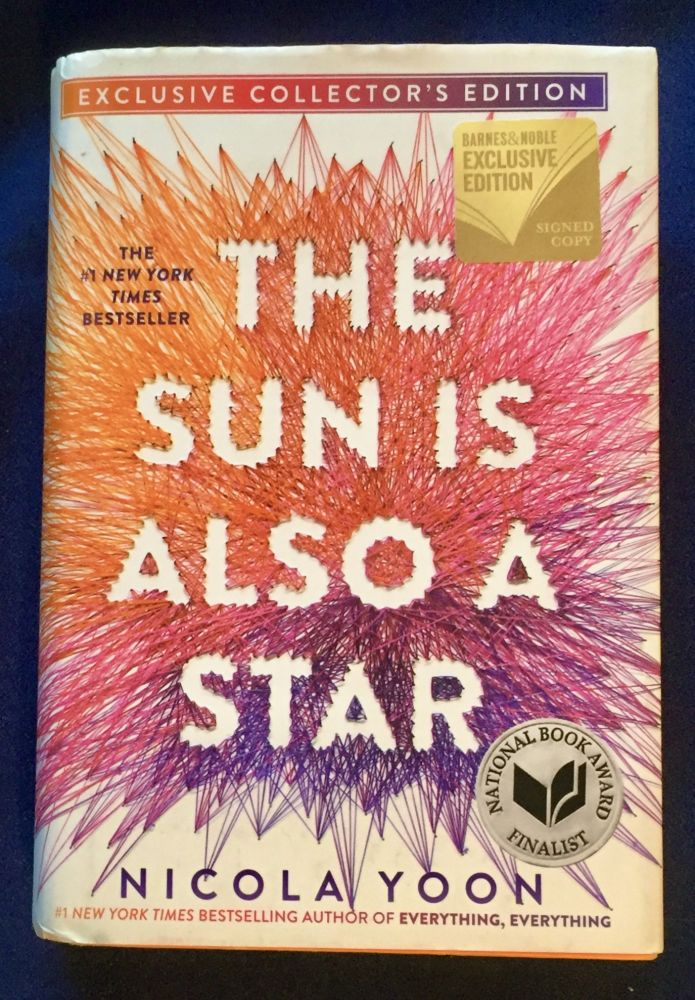 THE SUN IS ALSO A STAR; Nicola Yoon. Nicola Yoon.