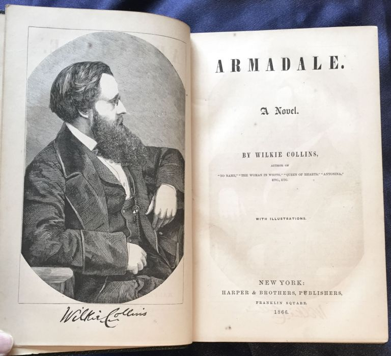 ARMADALE; A Novel. / By Wilie Collins / With Illustrations. Wilkie Collins.
