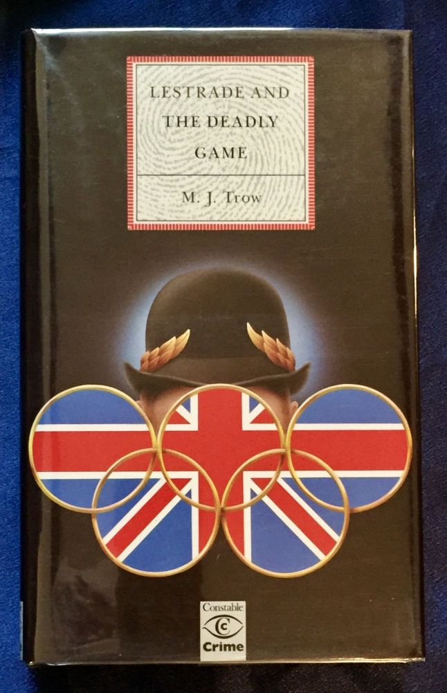 LESTRADE AND THE DEADLY GAME. M. J. Trow.