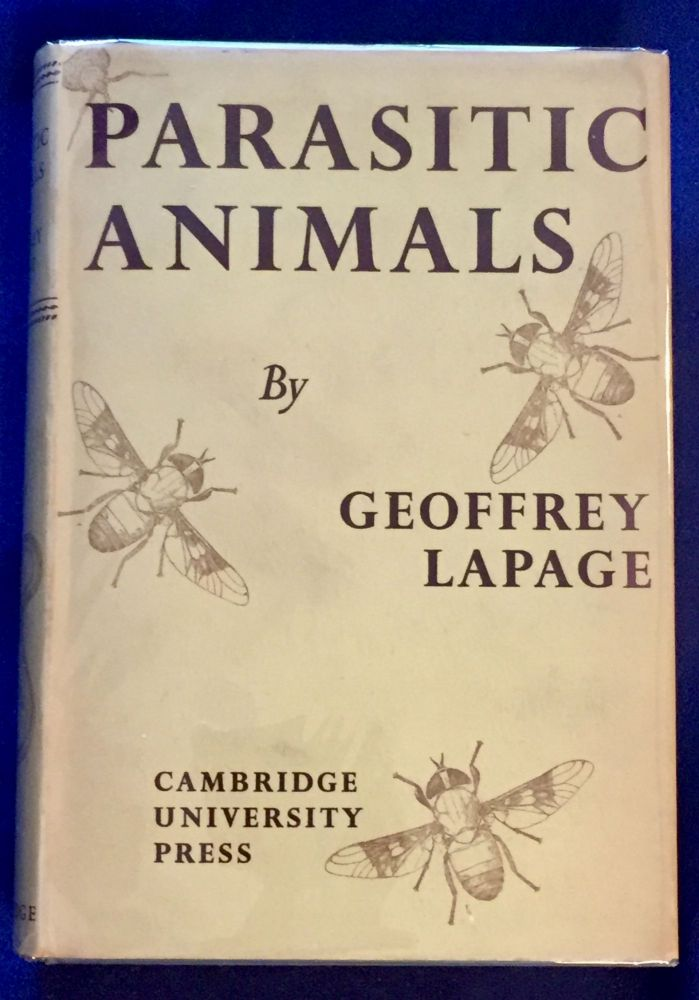 PARASITIC ANIMALS; Cambridge Library of Modern Science. M. D. Lapage, Geoffrey.