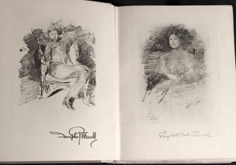 THE WHISTLER JOURNAL; By E. R. & J. Pennell / Authors of the Authorized Life of James McN. Whistler. Joseph Pennell, Elizabeth R.