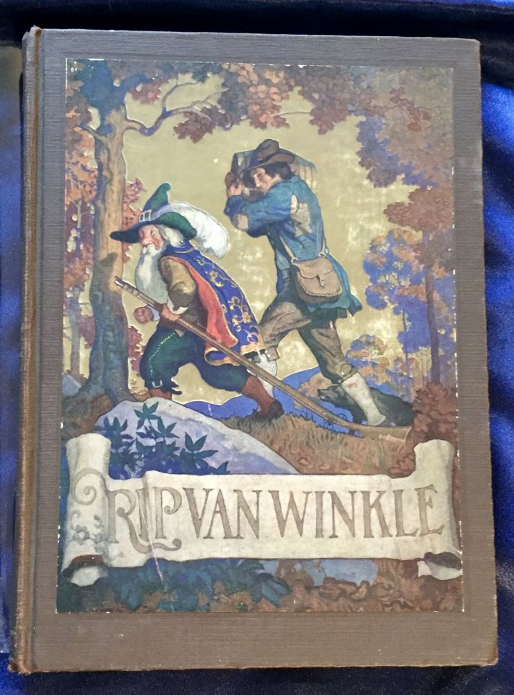 RIP VAN WINKLE; by Washington Irving / Pictures & Decorations by N. C. Wyeth. Washington Irving.