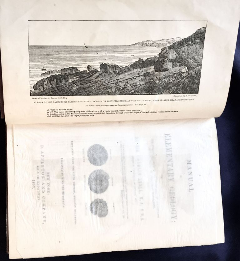 A MANUAL OF ELEMENTARY GEOLOGY; By Sir Charles Lyell, M.A. F.R.S. / Revised from the Sixth Edition, Greatly Enlarged / Illustrated with 750 Woodcuts. Sir Charles Lyell.