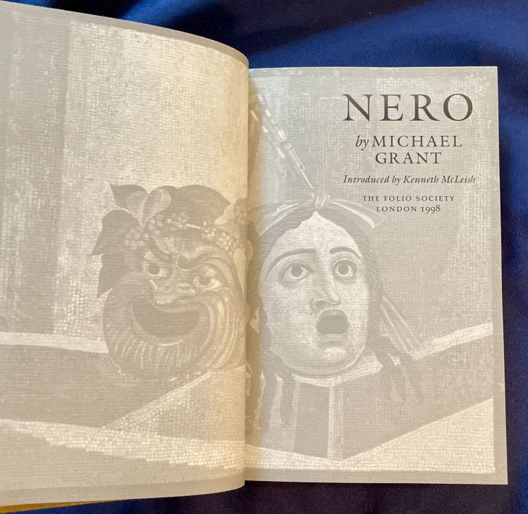 NERO; by Michael Grant / Introduced by Kenneth MacLeish. Michael Grant.