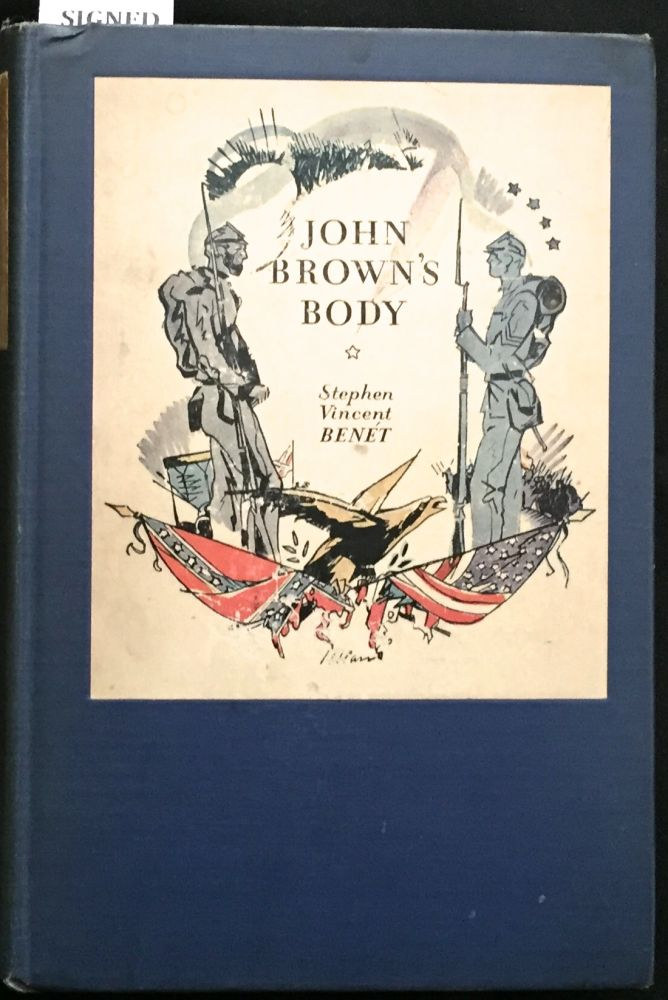 JOHN BROWN'S BODY. Stephen Vincent Benét.