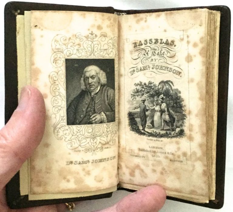 THE HISTORY OF RASSELAS, PRINCE OF ABISSINIA: A TALE. Miniature, Dr. Samuel Johnson.