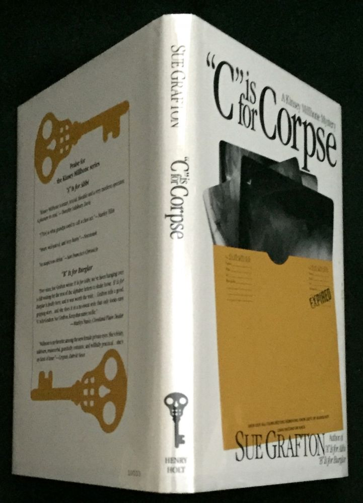 """""""C"""" IS FOR CORPSE; A Kinsey Milhone Mystery. Sue Grafton."""