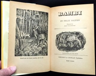 BAMBI + BAMBI'S CHILDREN; Translated by Whittaker Chambers / Illustrations by Kurt Weise