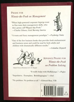 WINNIE-THE-POOH ON PROBLEM SOLVING; In which Pooh, Piglet and friends explore How to Solve Problems so you can too