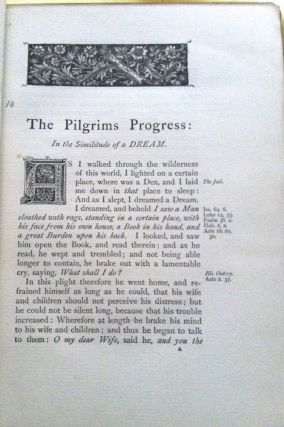 PILGRIM'S PROGRESS; From This World To That Which Is To Come