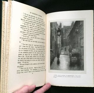 IN DICKENS'S LONDON; Illustrated with Charcoal Drawings by the Author