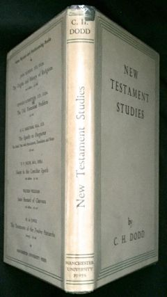 NEW TESTAMENT STUDIES; by C. H. Dodd