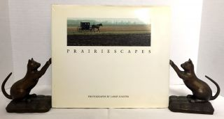 PRAIRIESCAPES; Photographs by Larry Kanfer / With a Foreword by Walter L. Creese. Larry Kanfer