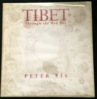 TIBET; Through the Red Box. Peter Sis